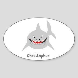 Personalized Shark Design Sticker
