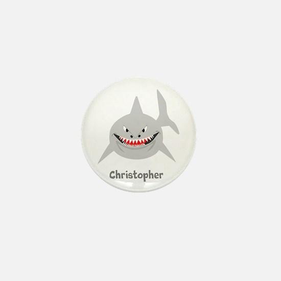 Personalized Shark Design Mini Button