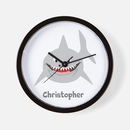 Personalized Shark Design Wall Clock