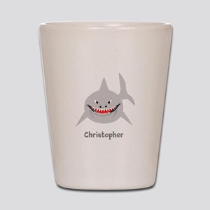 Personalized Shark Design Shot Glass