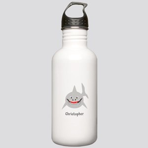 Personalized Shark Design Sports Water Bottle