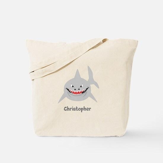 Personalized Shark Design Tote Bag