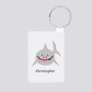 Personalized Shark Design Keychains