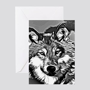 Wolf 2014-0802 Greeting Cards