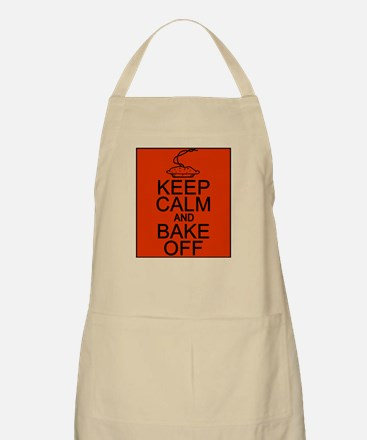 Keep Calm and Bake Off Apron
