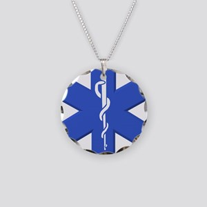 EMT star of life Necklace