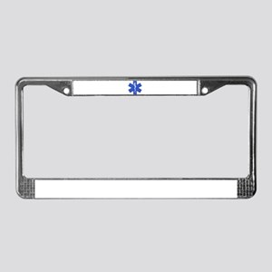 EMT star of life License Plate Frame