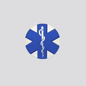 EMT star of life Mini Button