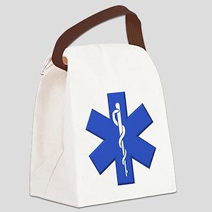 EMT star of life Canvas Lunch Bag