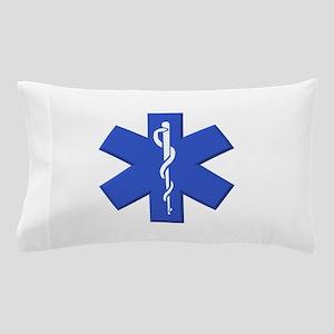EMT star of life Pillow Case