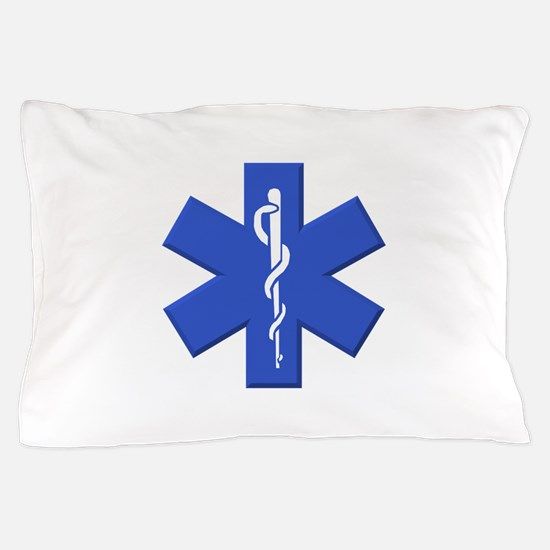 EMT star of life Pillow Case