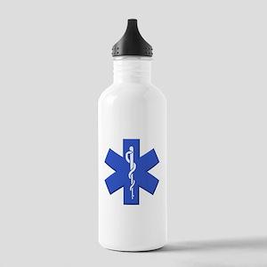 EMT star of life Water Bottle