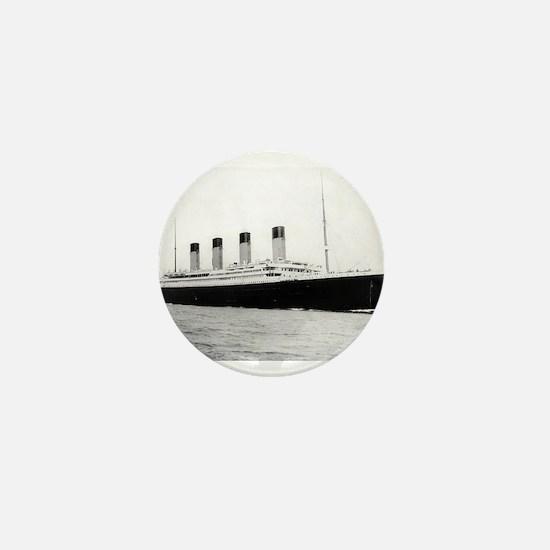 Cool Titanic Mini Button