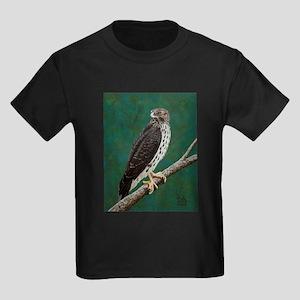Cooper's Hawk: Kids Dark T-Shirt