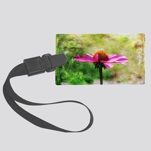 On a Cloudy Day Large Luggage Tag
