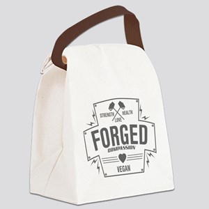 Forged Compassion Vegan Canvas Lunch Bag