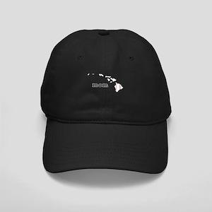T Ball Mom Shirt Hawaii Tee B Black Cap with Patch