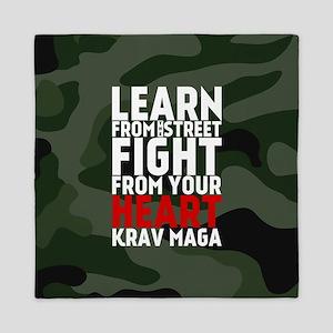 Learn From The Street Krav Maga Queen Duvet