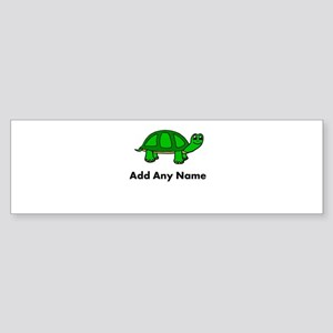 Turtle Design - Add Your Name! Bumper Sticker