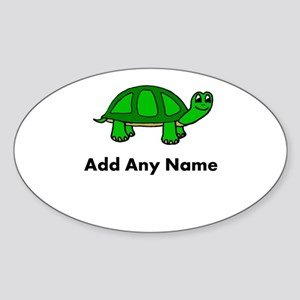 Turtle Design - Add Your Name! Sticker