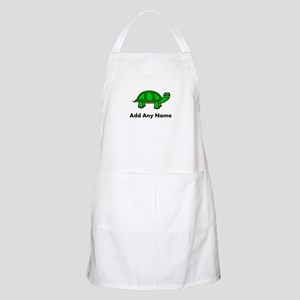 Turtle Design - Add Your Name! Apron