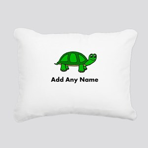 Turtle Design - Add Your Name! Rectangular Canvas