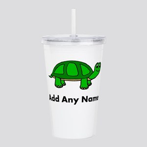 Turtle Design - Add Your Name! Acrylic Double-wall