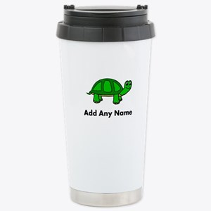 Turtle Design - Add Your Name! Travel Mug