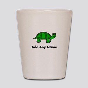 Turtle Design - Add Your Name! Shot Glass