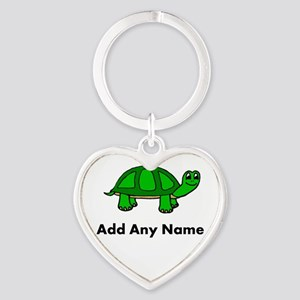 Turtle Design - Add Your Name! Keychains