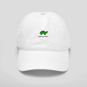 Turtle Design - Add Your Name! Baseball Cap