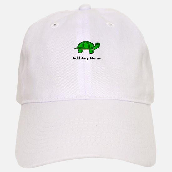 Turtle Design - Add Your Name! Baseball Baseball Baseball Cap