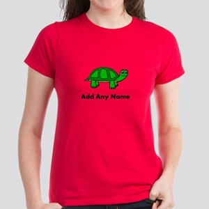 Turtle Design - Add Your Name! T-Shirt