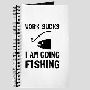 Work Sucks Fishing Journal