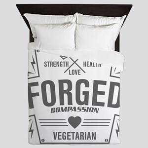 Forged Compassion Vegetarian Queen Duvet