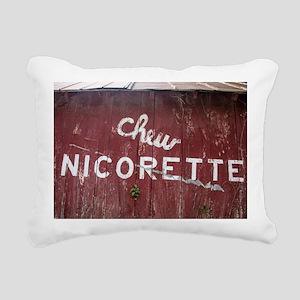 Barnsided Rectangular Canvas Pillow
