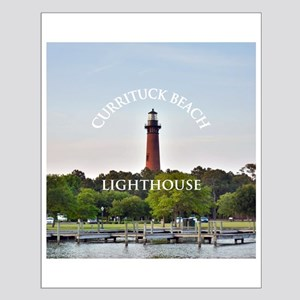 Currituck Beach Lighthouse Small Poster