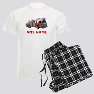 FIRETRUCK with Any Name or Text Pajamas