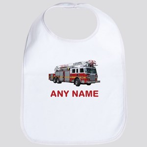 FIRETRUCK with Any Name or Text Bib