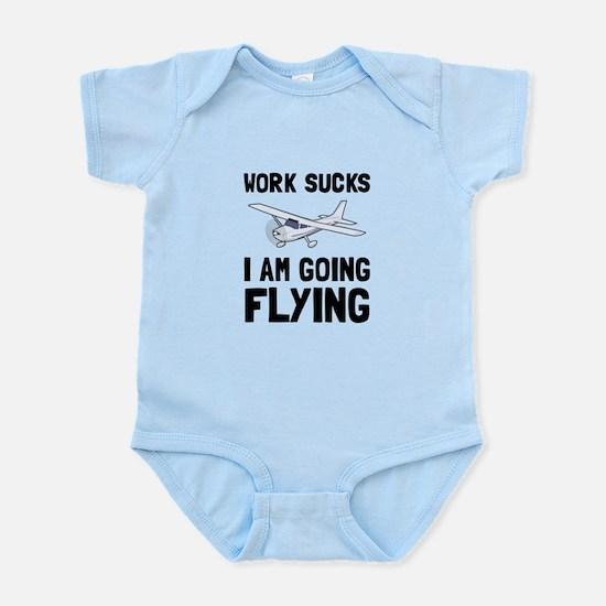 Work Sucks Flying Body Suit