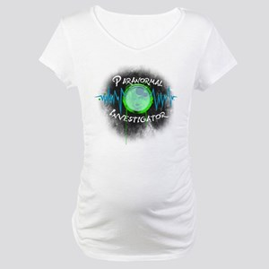 Ghost Investigator Maternity T-Shirt