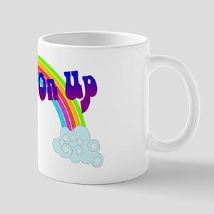 Movin' On Up (Rainbow) Mug