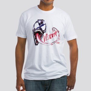 Venom Face Fitted T-Shirt