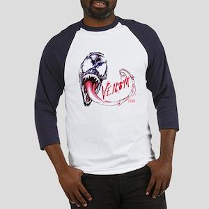 Venom Face Baseball Jersey