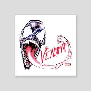 """Venom Face Square Sticker 3"""" x 3"""""""