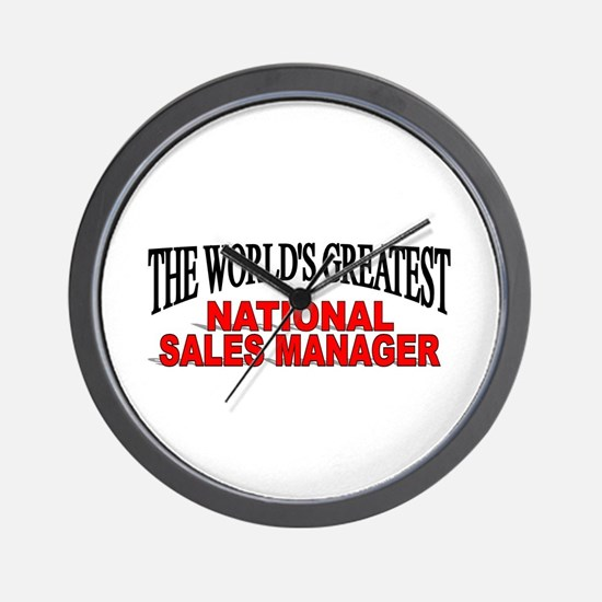 """""""The World's Greatest National Sales Manager"""" Wall"""