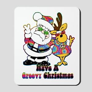 Groovy Christmas Mousepad
