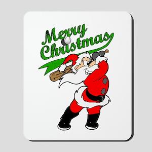 Baseball Christmas Mousepad