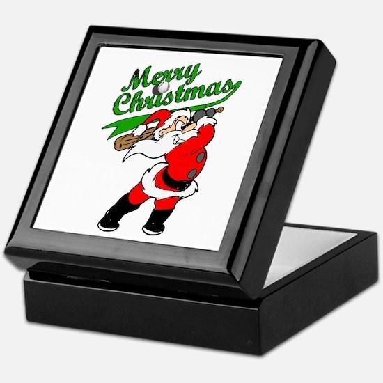 Baseball Christmas Keepsake Box