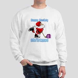 Hockey Christmas Sweatshirt